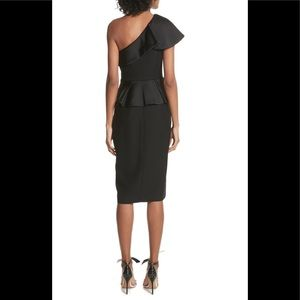 Ted Baker Dresses - Ted baker pana one shoulder peplum dress